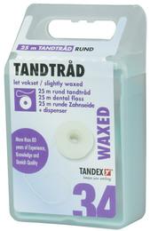 Tandex Tandtråd tynd/rund 25 m 25 m