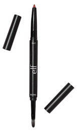 e.l.f. Lip Liner & Blending Brush Dark Brown