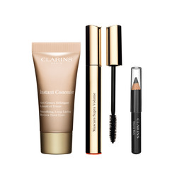 Clarins Value pack supra volume mascara 8ml / 5ml instant concealer / khôl