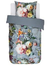 Essenza Fleur Sengesæt Faded Blue 140 x 220 cm