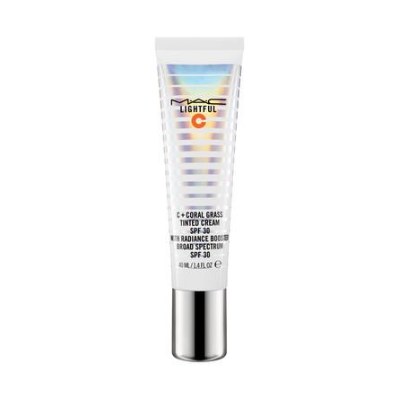 MAC Lightful C + Coral Grass Tinted Cream SPF30 Light Plus