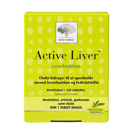 New Nordic Active Liver 120 tabl.