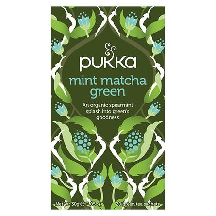 Pukka Mint Matcha Green te Øko 20 br.
