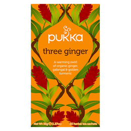Pukka Three Ginger te - øko 20 breve