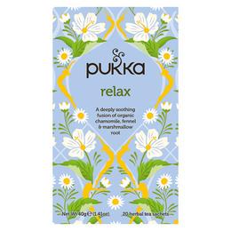 Pukka Relax Kamille og Fennikel 20 breve økologisk