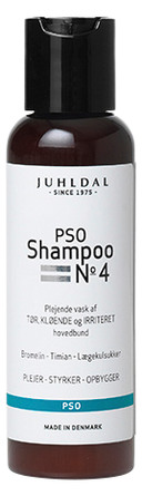 Juhldal PSO Shampoo No. 4, 100 ml