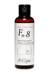 RAZspa Fn+8 Body & Massage Oil Perfume Free & Just Clear