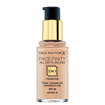 Max Factor All Day Flawless 3 in 1 Foundation 50