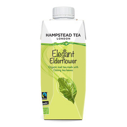 Hampstead Elegant Elderflower Iste Oolong Øko 330 ml