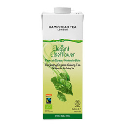 Hampstead Elegant Elderflower Iste Oolong Øko  1 l