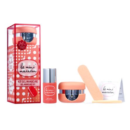 Le mini macaron Gel Manicure Kit Peach