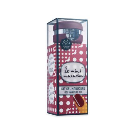 Le mini macaron Gel Manicure Kit Cassis
