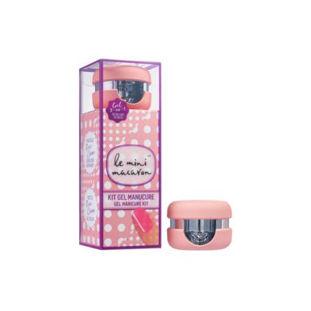 Le mini macaron Gel Manicure Kit Rose Creme