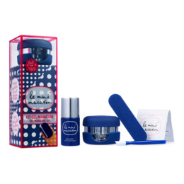 Le mini macaron Gel Manicure Kit Midnight Blueberry