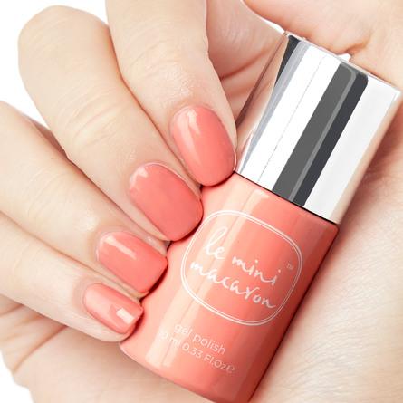 Le mini macaron Single Gel Polish Peach