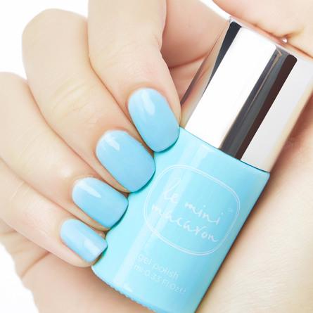 Le mini macaron Single Gel Polish Baby Blue