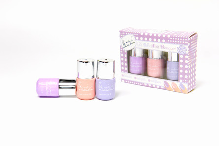 Le mini macaron Les Minis Set Polish Petit Bouquet Petit Bouquet