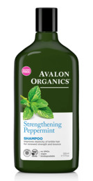 Avalon Organics Strengthening Peppermint Shampoo 325 ml