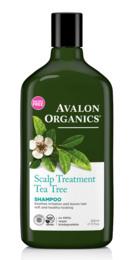 Avalon Organics Scalp Treatment Tea Tree Shampoo 325 ml