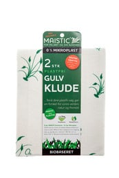 Maistic Bio Gulvklude 2 stk.- Fri for mikroplast