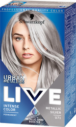 silver hårfarve