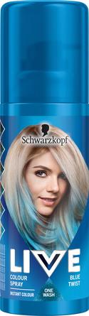 Schwarzkopf LIVE Color Spray Blue Twist