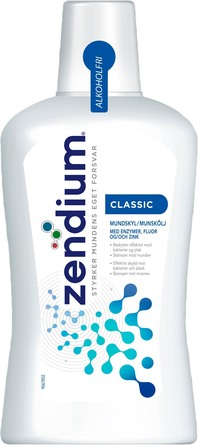 Zendium Classic Mundskyl m/zink 500 ml