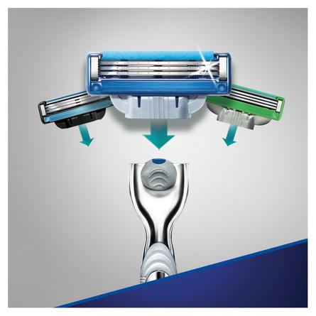 Gillette Mach3 Turbo Barberskraber + 9 Barberblade