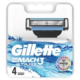 Gillette Mach3 Start-Barberblade 4 stk.