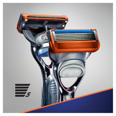 Gillette Fusion5 Barberskraber + 2 stk Barberblade 1 stk.