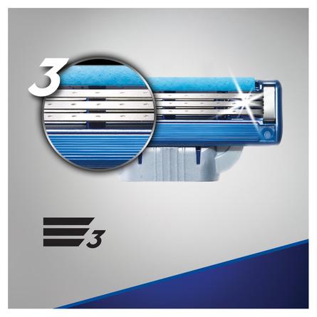 Gillette Mach3 Turbo Barberblade 5 stk