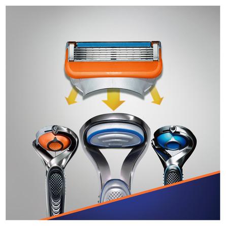 Gillette Fusion5 Barberblade 4 stk.