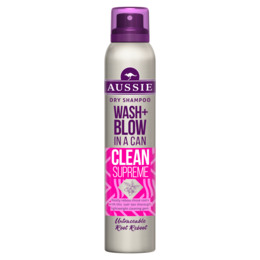 Aussie Wash + Blow Clean Sweep Tørshampoo 180 ml