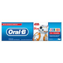 Oral-B (Braun) Junior Star Wars Tandpasta, 6+ År 75 ml