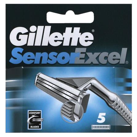 Gillette Sensor Excel Barberblade 5 stk.