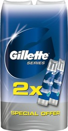 Gillette Series barbergel til følsom hud 2 x 200 ml