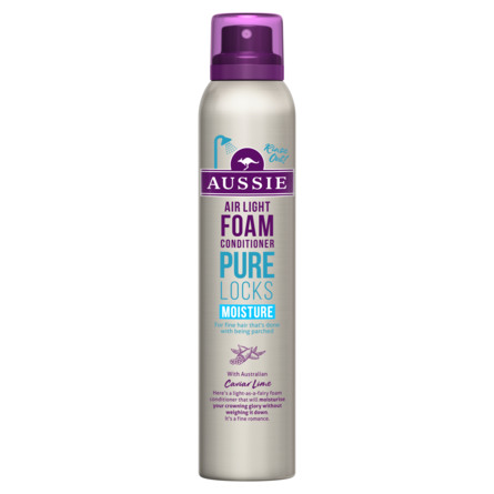 Aussie Pure Locks  Moisture Foam Conditioner 180ML, Dette Fugtgivende Mirak 180 ml