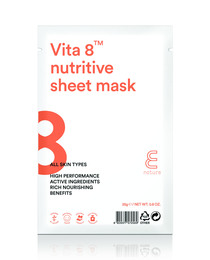 E NATURE Vita 8 Nutritive Sheet Mask 25 g