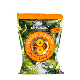 Spicy Banana chips Renée Voltaire 85 g