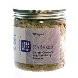 SÆBEVÆRKSTEDET Aromatisk badesalt Kamille & Lavendel 200 g