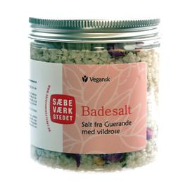 SÆBEVÆRKSTEDET Aromatisk badesalt Vildrose 200 g