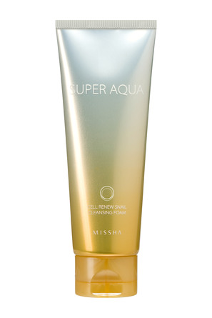 Missha Super Aqua Cell Renew Snail Cleansing Foam 100 ml