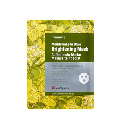 Leaders 7 Wonders Mediterranean Olive Brightening Mask 30 ml