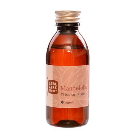 SÆBEVÆRKSTEDET Ren Mandelolie 150 ml