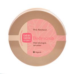 SÆBEVÆRKSTEDET Pink Patchouli Scrub med økologisk rørsukker 200 ml