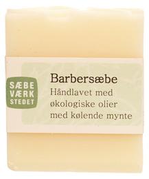 SÆBEVÆRKSTEDET Håndlavet barbersæbe 100 g