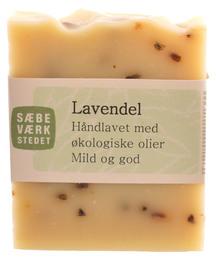 SÆBEVÆRKSTEDET Håndlavet sæbe Lavendel 100 g