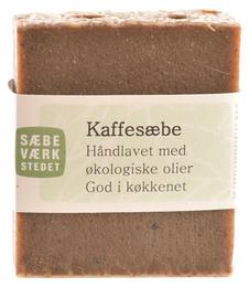 SÆBEVÆRKSTEDET Håndlavet Kaffesæbe 100 g
