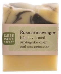 SÆBEVÆRKSTEDET Håndlavet sæbe Rosmarinswinger 100 g
