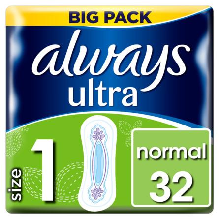Always Normal Ultra (str. 1) bind 32 stk.